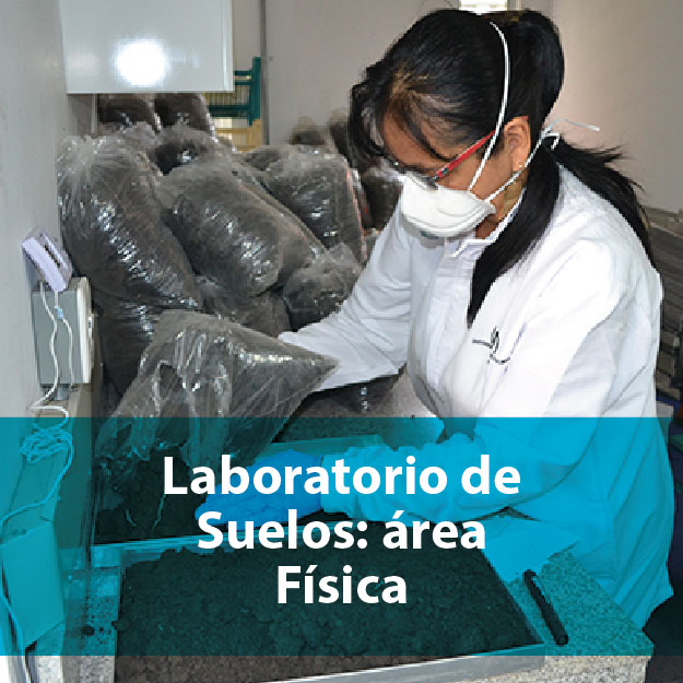 Laboratorio de suelos: área física