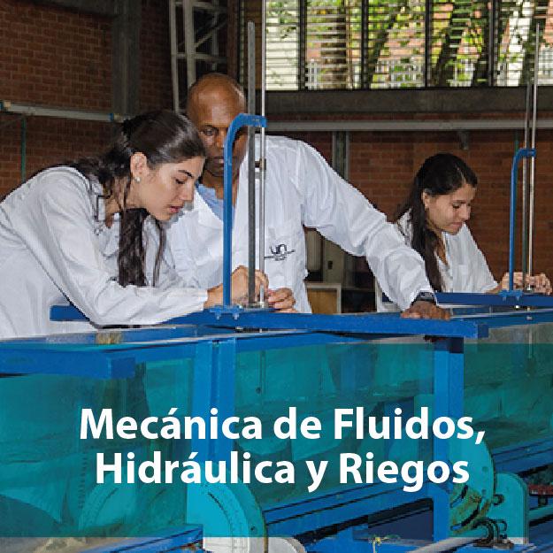 Mecánica de fluidos, hidráulica y riegos